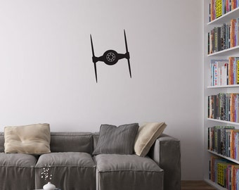 Imperial Ti-Fighter Vinyl Wall Art Decal