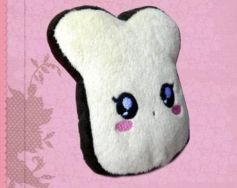 Toast plushie kawaii plush cuddle soft cute soft toy