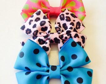 Hair bows - Set of 3