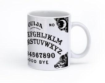 Ouija Mug - Ouija Print Mug - Ouija Coffee Mug - Occult Mug - Occult Coffee Mug