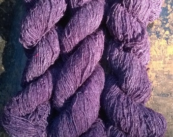 Organic Machine Spun Hemp Yarn - Purple