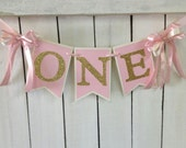 pink and gold birthday high chair banner pink and gold birthday party ballerina birthday ballerina party princess party 1st birthday couture