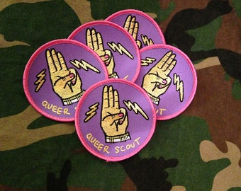 Queer Scout Badge Pack