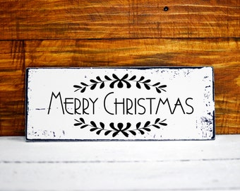 merry christmas sign shabby chic decor christmas gift christmas gifts shabby chic sign santa please stop here christmas decor