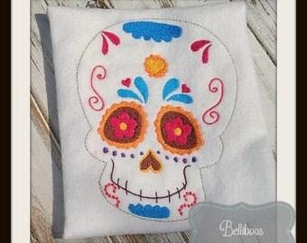 Sugar Skull 1 Embroidery Design