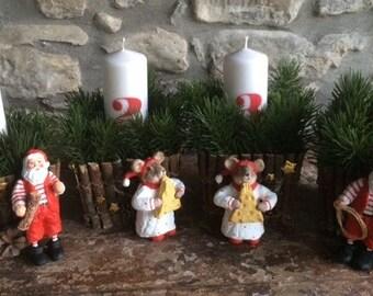 Christmas Advent Wreath (4 baskets)