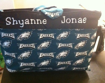 Philadelphia Eagles Diaper Bag