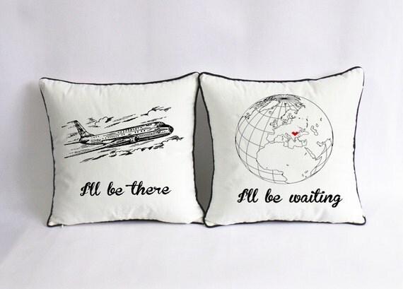 Cute Long Distance Pillow Cases : long distance love pillow case custom long distance boyfriend