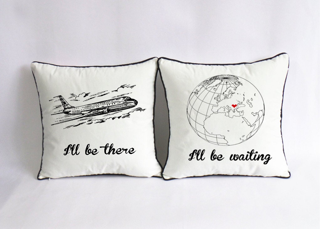 Cute Pillow For Boyfriend : long distance love pillow case custom long distance boyfriend