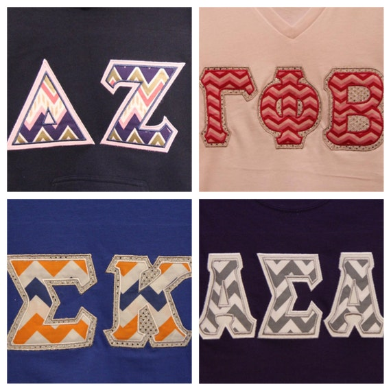 Custom chevron greek letter t shirt for Custom greek letter t shirts