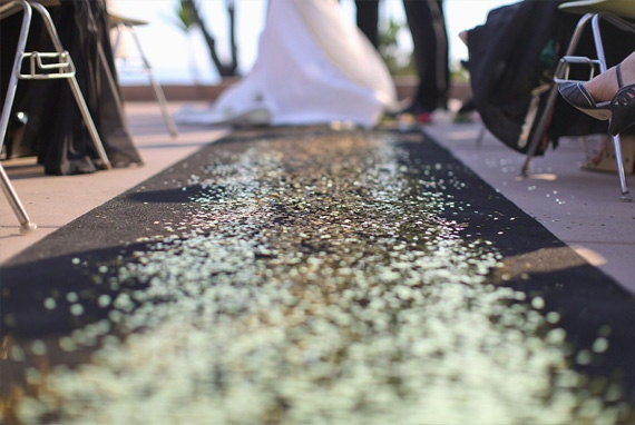 petal aisle runner diy glitter aisle runner wedding aisle runner