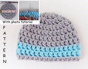 Beginner Crochet Baby Hat Tutorial : Popular items for photo tutorials on Etsy