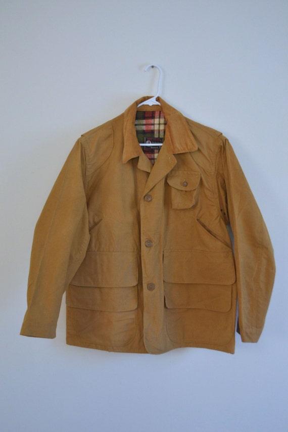 Redhead hunting coat