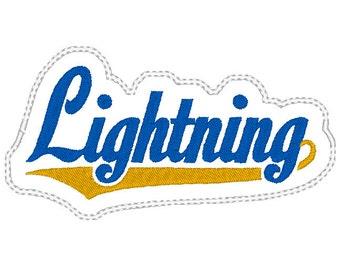 Lightning Headband Slider design Instant Download