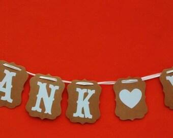 Thank You wedding banner SALE