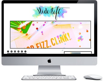Slide It To The Left Blogger Blog Template with Image Slider ***Includes Installation***
