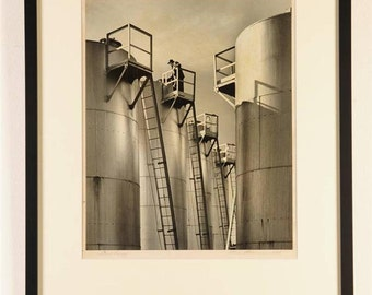 W.C. Bowman-Original Exhibition Bromide Photograph-Rare c.1939