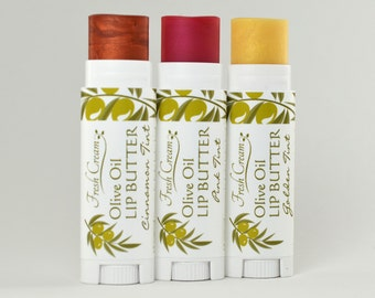 LIP SMACKING DEAL! Tinted Lip Balms; pink, cinnamon and golden tint