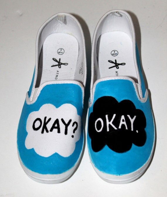 Handpainted 'The Fault In Our Stars' Inspired Shoes