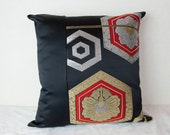 Kimono; Japanese Kimono; Japanese Kimono Cushion; Kimono Cushion; Kimono Cushion; Kimono Tango Cushion; Kimono Throw Pillow; Kimono Pillow