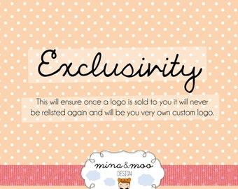 Pre-made Logo Design - Exclusivity Puchase
