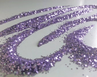 glitter - orchid fine polyester