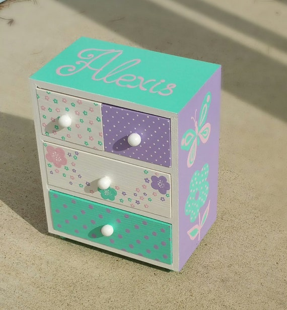 jewelry box for girl personalized baby girl gift On baby girl jewelry box