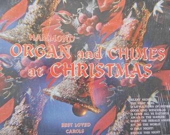 Hammond Organ and Chimes at Christmas - vinyl record
