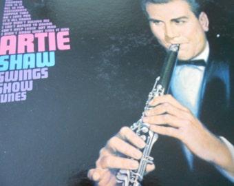 Artie Shaw Swings Show Tunes - vinyl record