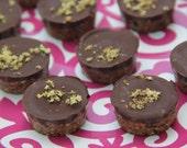 Doosje rauwe chocolade bonbons