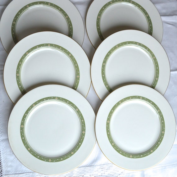 Set Of 6 X Royal Doulton Fine English Bone China Large