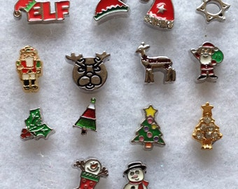 CHRISTMAS floating charm, limited quantity.