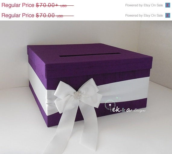 Wedding Gift Boxes For Sale : ON SALE ON Sale Wedding Gift Card Box / Wedding card box / wedding ...