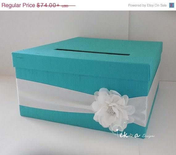 Wedding Gift Box For Sale : ON SALE Wedding Gift Card Box / Wedding card box / wedding money box ...