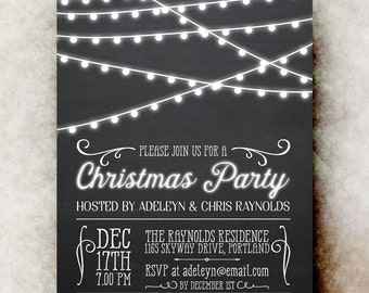black white party  etsy, Party invitations
