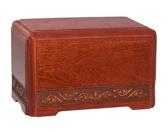 Cherry Small Keepsake Majesty Wood Cremation Urn