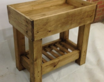 Vintage Rustic Baby Changing Station Unit Changer