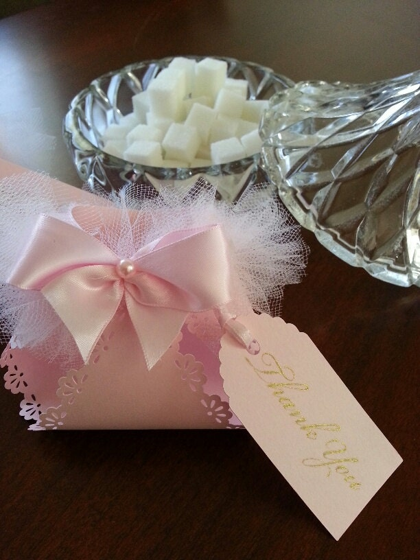 pink tutu diaper favors pink baby shower favors pink baby