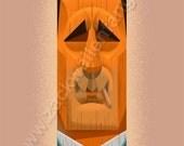 Don Draper Tiki Head