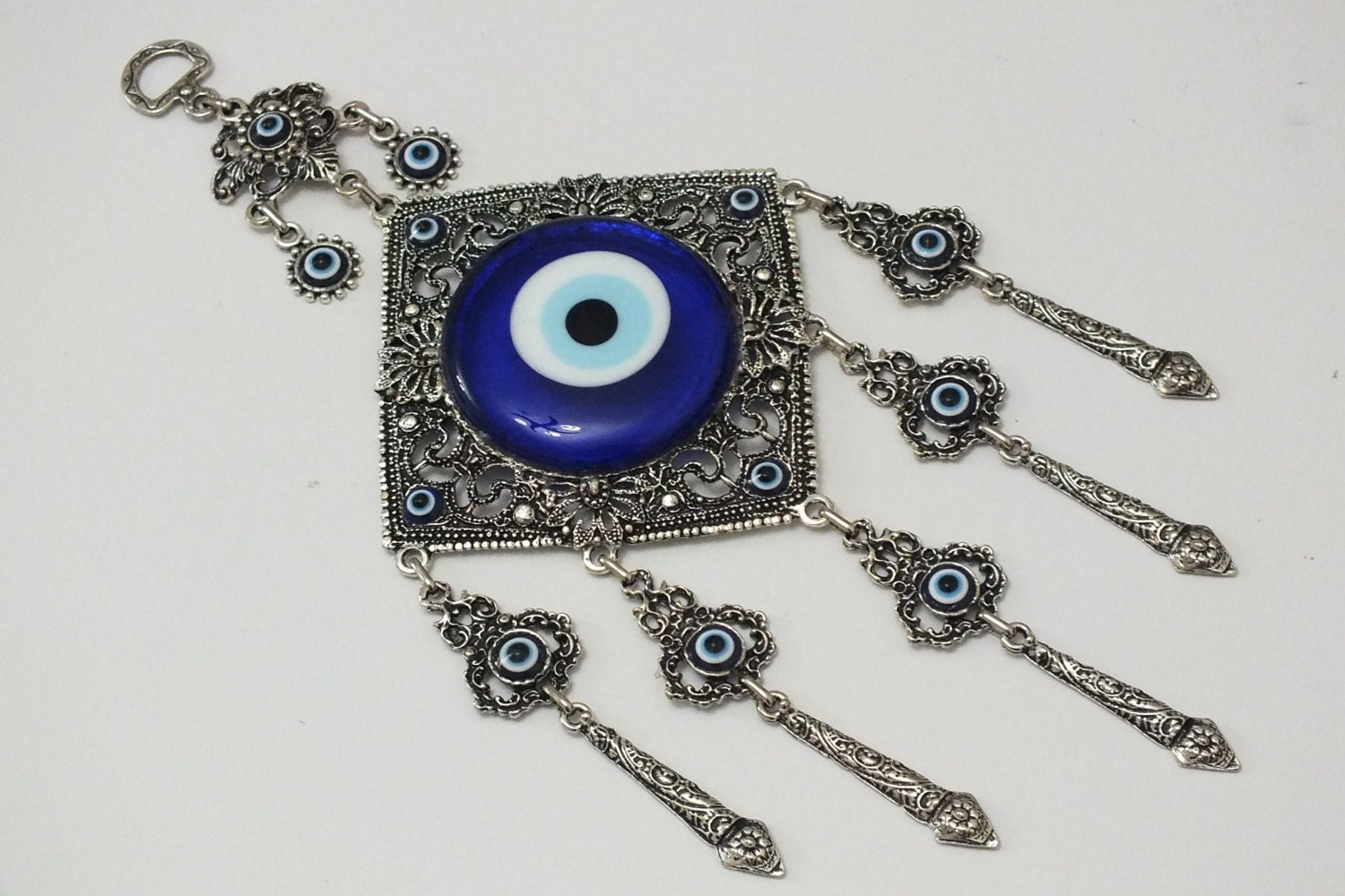 Evil Eye Decoration Wall Hanging : Evil eye wall decor lucky hanging houses