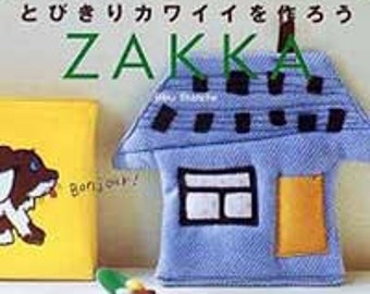 Zakka handmade craft book - fabric houses and more