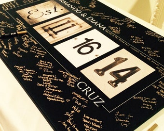 Guest Book Ideas curated by Wedding Forward on Etsy