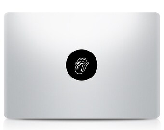 Rollingstones logo Macbook Decal Laptop Sticker Macbook Pro Air Vinyl Decal Macbook Sticker Macnip