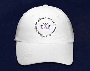 Difference Purple Ribbon Baseball Hat (RETAIL) (RE-HATDI-4W)