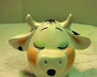 """Single Cow """"Eggs-Pression"""""""