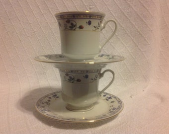 Truly Tasteful Fine China Cup And Saucer