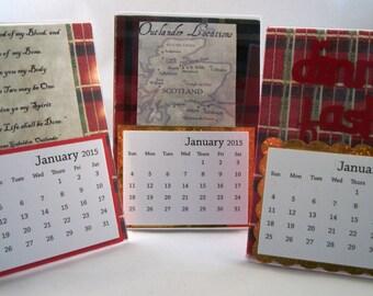 "Outlander"" Desktop Calendar"