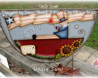 Uncle Sam - by Sharon Bond, E-Pattern