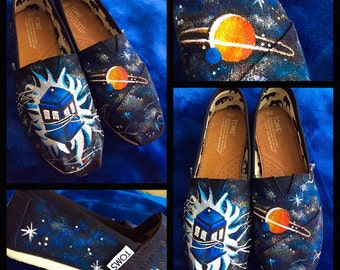 Custom designed Doctor Who Toms! Designed and personalized just for you