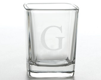 Personalized Shot Glass - Groomsmen Gifts - Engraved shot glass (262)